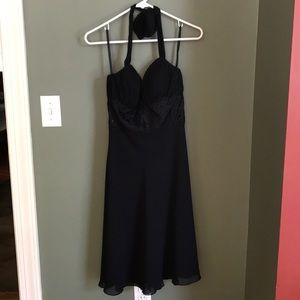 Black dress with a little flare